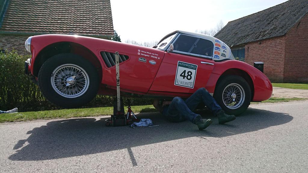 Classic car Alfa oldtimer onderhoud monteur