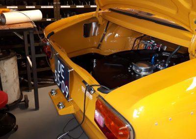 Restauratie Alfa 1750 GTAM kofferbak