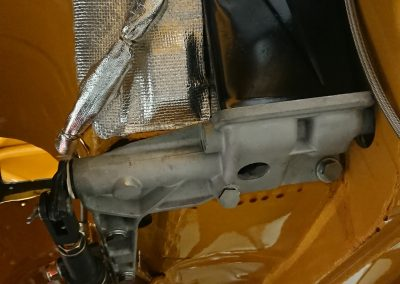 Restauratie Alfa 1750 GTAM onderkant