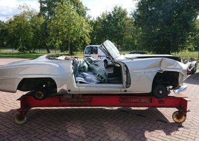 Mercedes 190SL restauratie