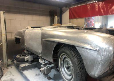 Mercedes restauratie 1