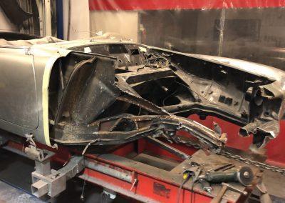 Mercedes restauratie